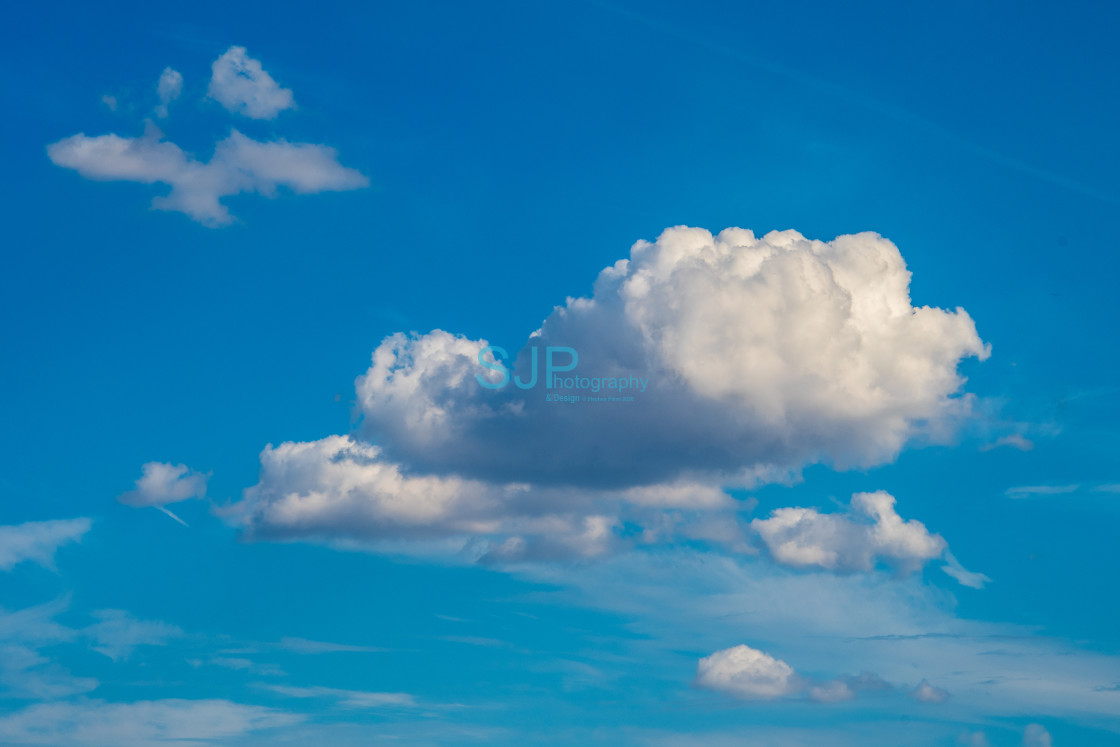 """""""Clouds in Sky2"""" stock image"""