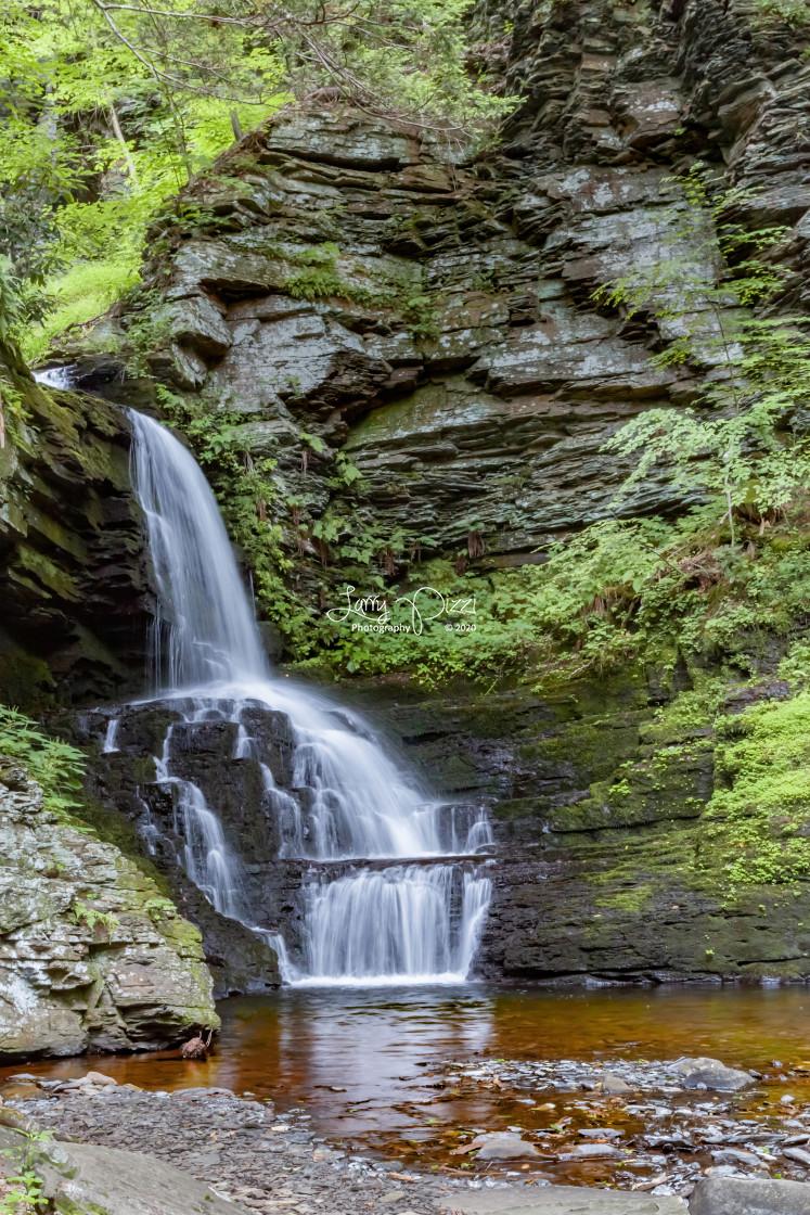 """""""Bushkill Falls"""" stock image"""