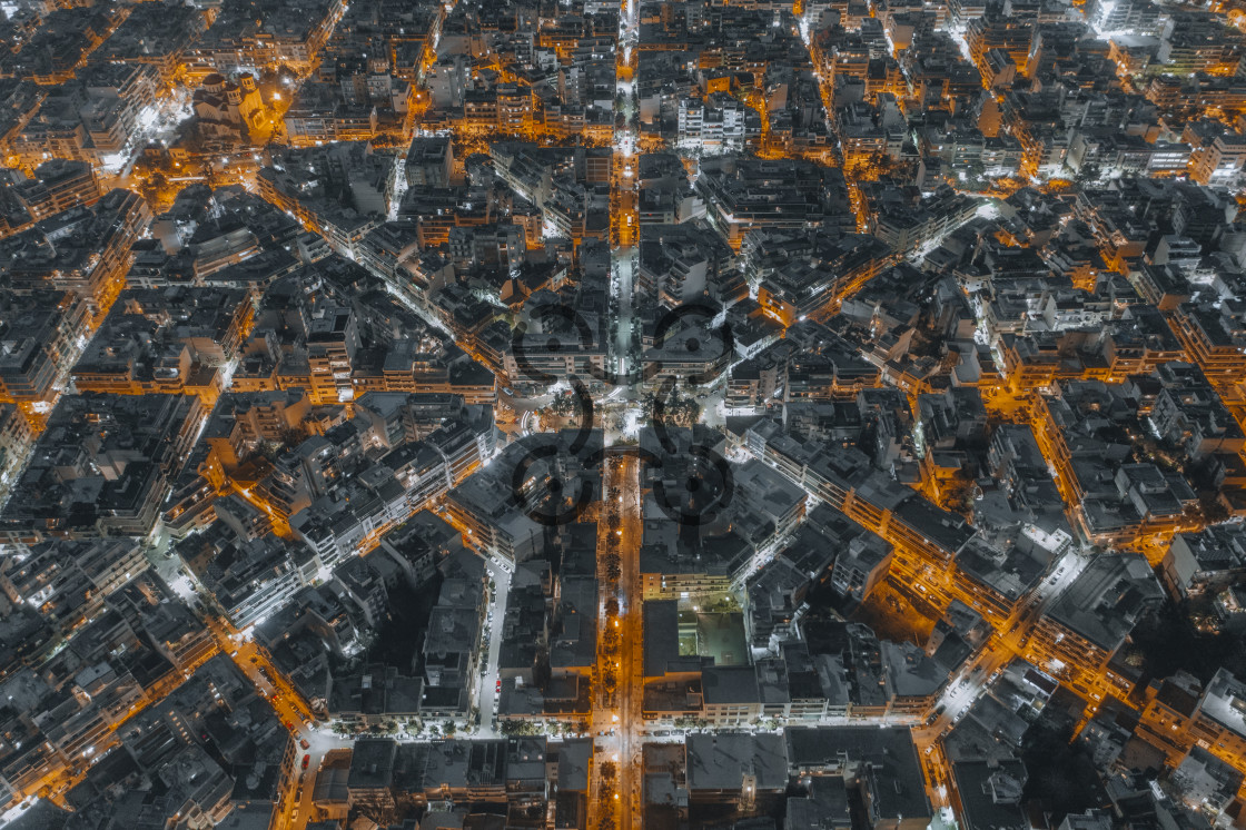 """""""Streets in Athens"""" stock image"""