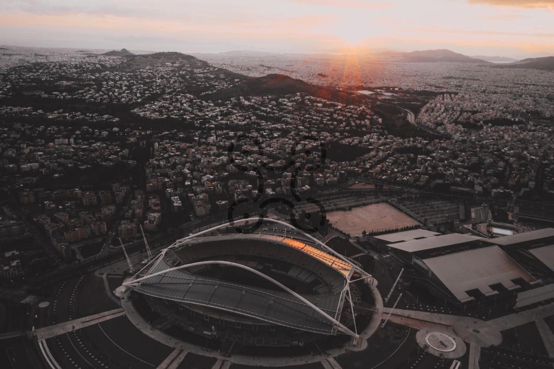 """Olympic Stadium of Athens"" stock image"