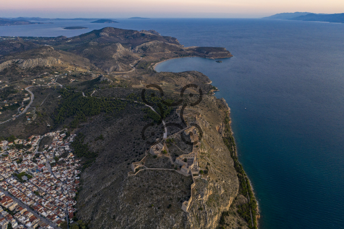 """Bourtzi Fortress - Nauplio"" stock image"