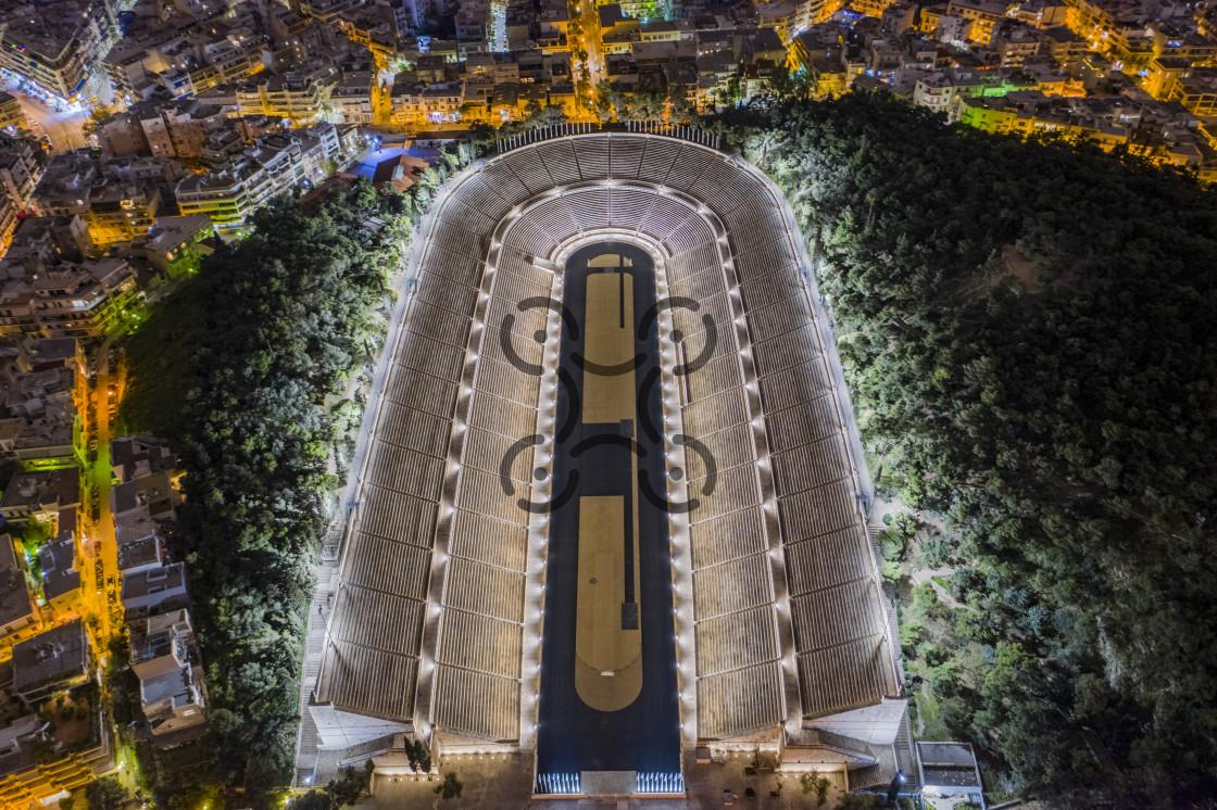 """""""Panathenaic Stadium Greece"""" stock image"""