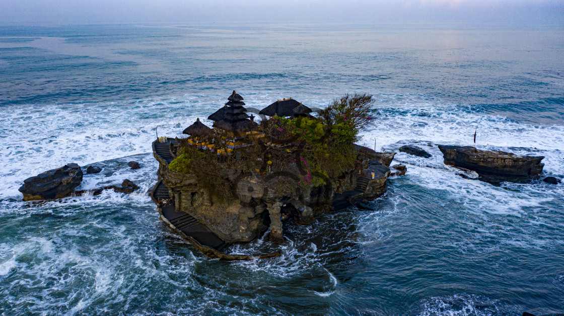 """Tanah Lot Temple - Bali"" stock image"