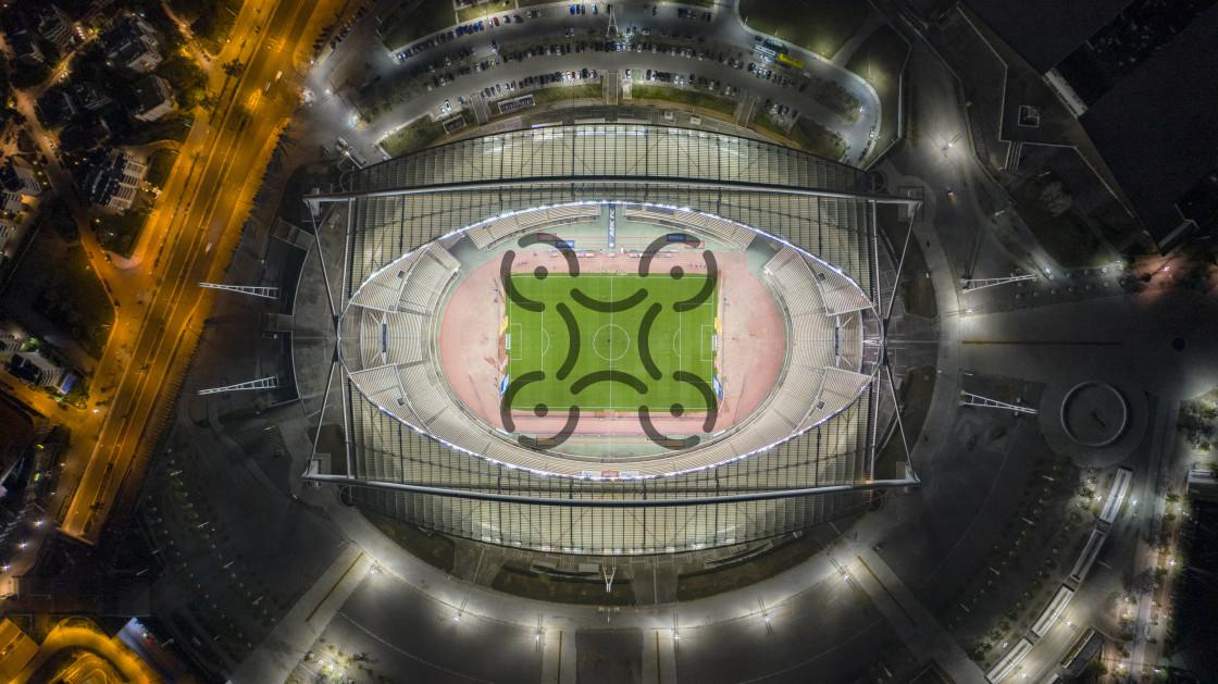 """""""OAKA - Athens Olympic Stadium"""" stock image"""