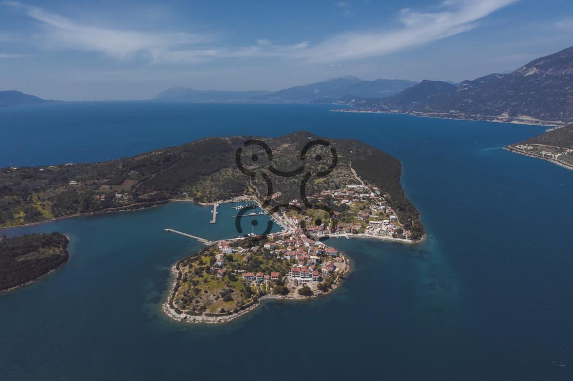 """Troizonia Fokidas - Greece"" stock image"