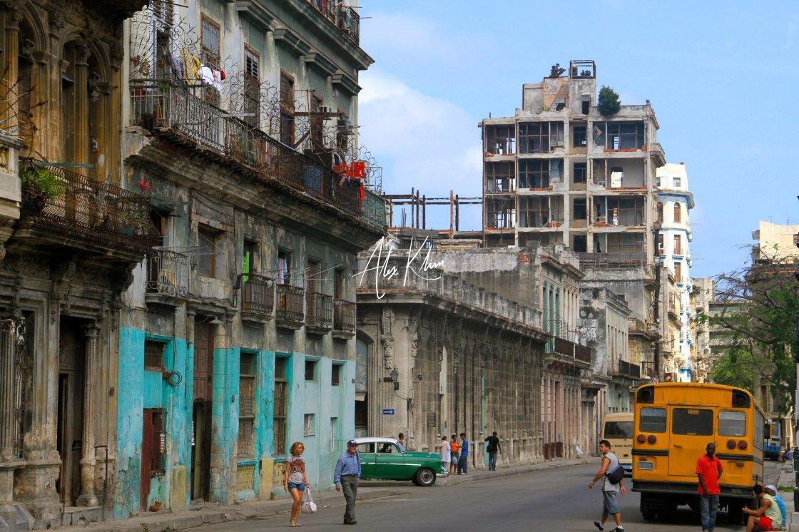 """Cuban Street"" stock image"