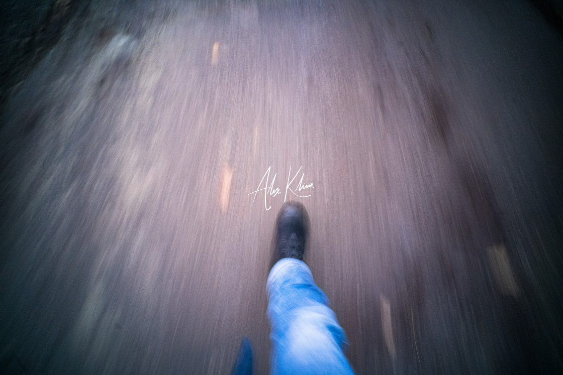 """Street Walk Motion"" stock image"