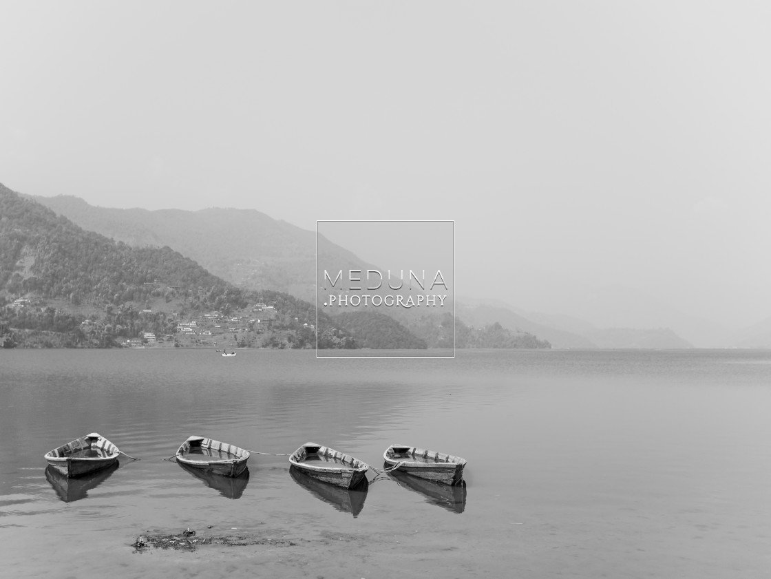 """Phewa Lake"" stock image"