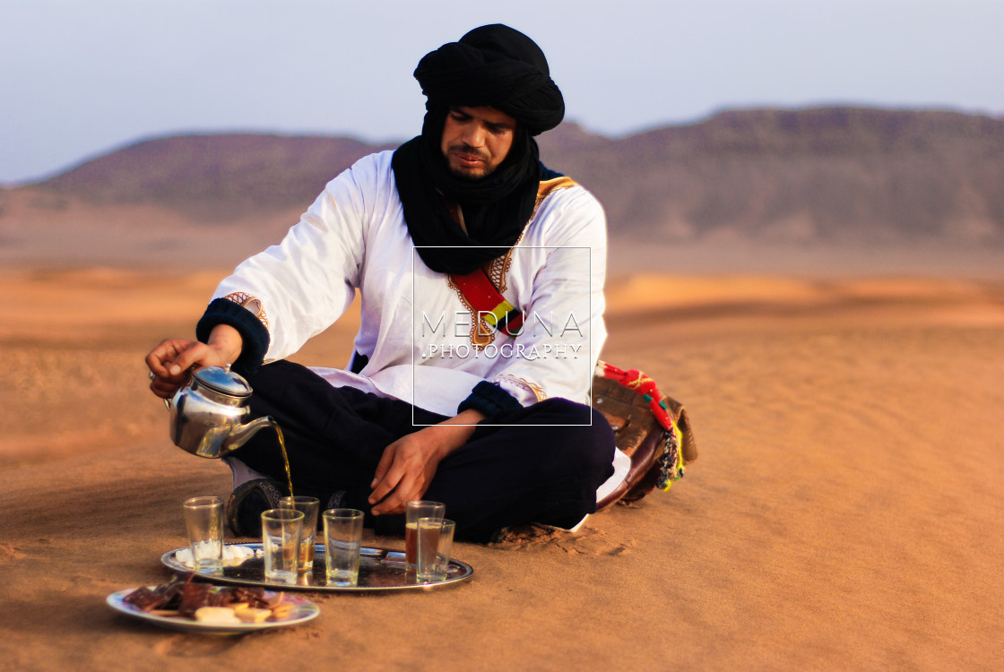 """Hussein the Berber"" stock image"