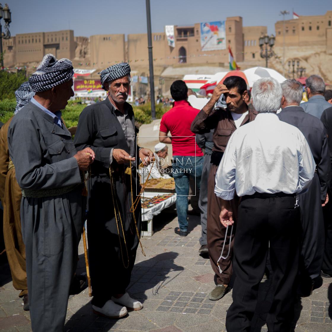 """""""Kurdish men"""" stock image"""