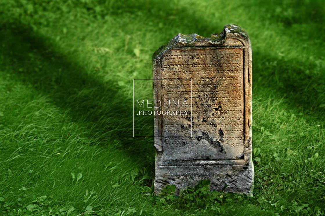 """Old Jewish cemetery"" stock image"