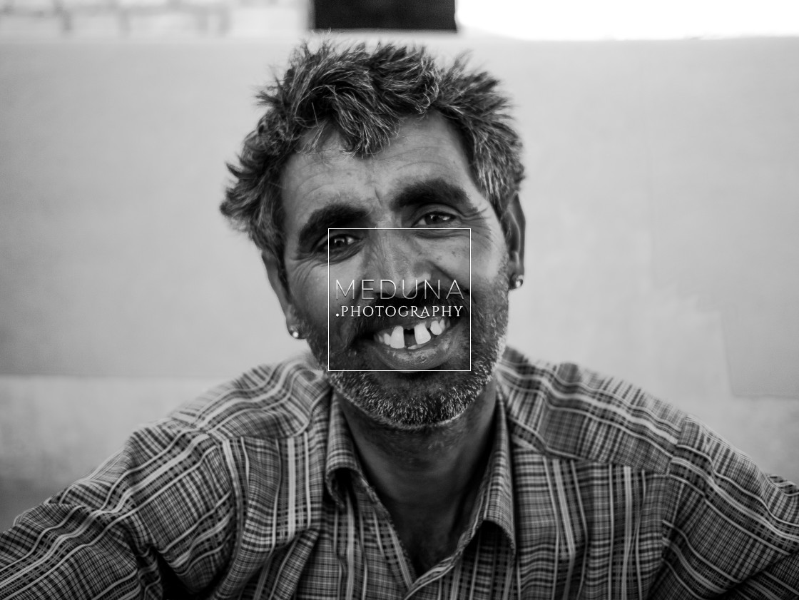"""Prakash the cameleer"" stock image"