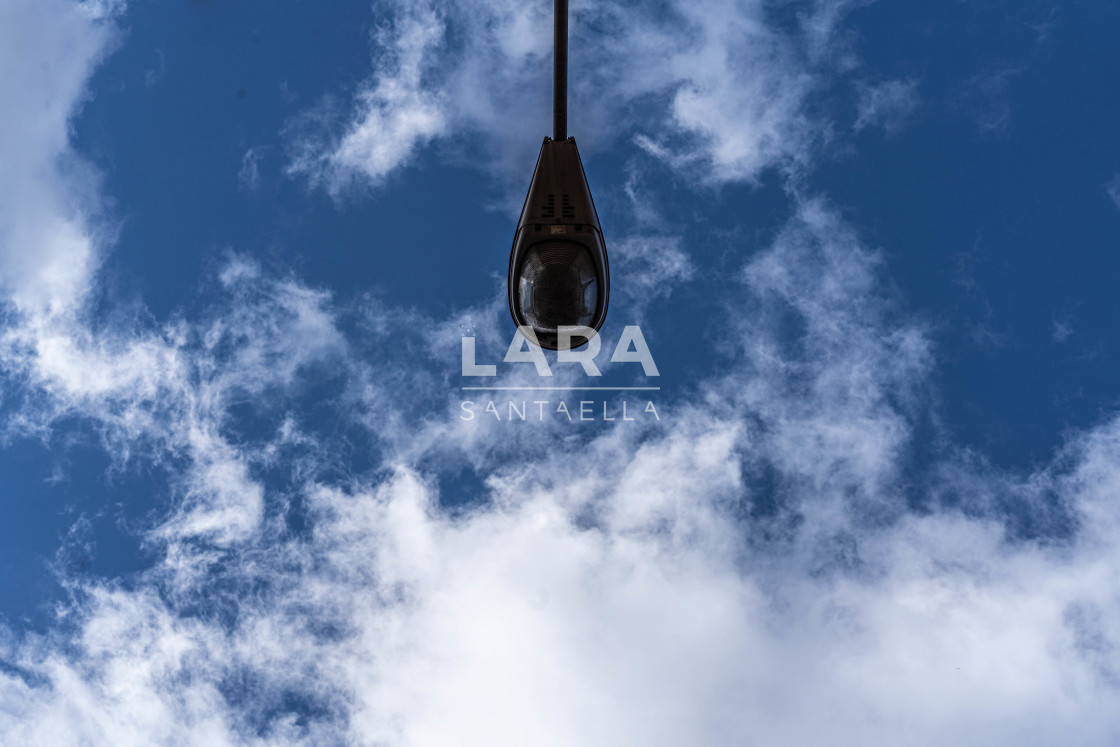 """A drop on the sky"" stock image"