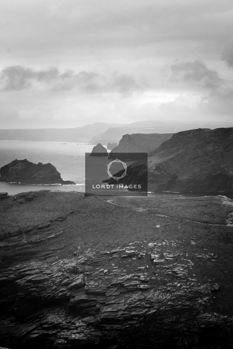 """Tintagel Shores"" stock image"