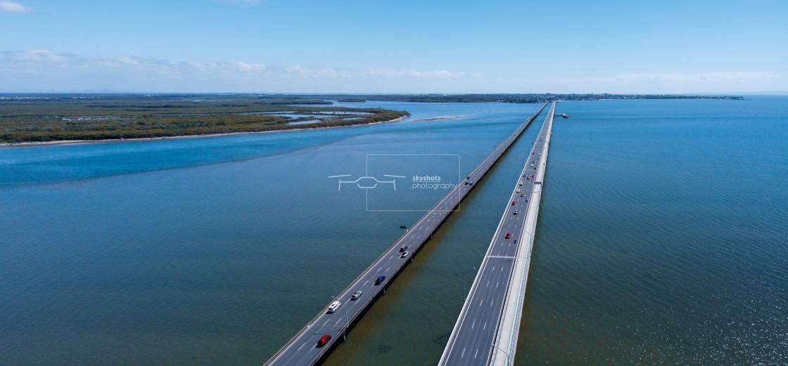 """Hornibrook Bridge"" stock image"