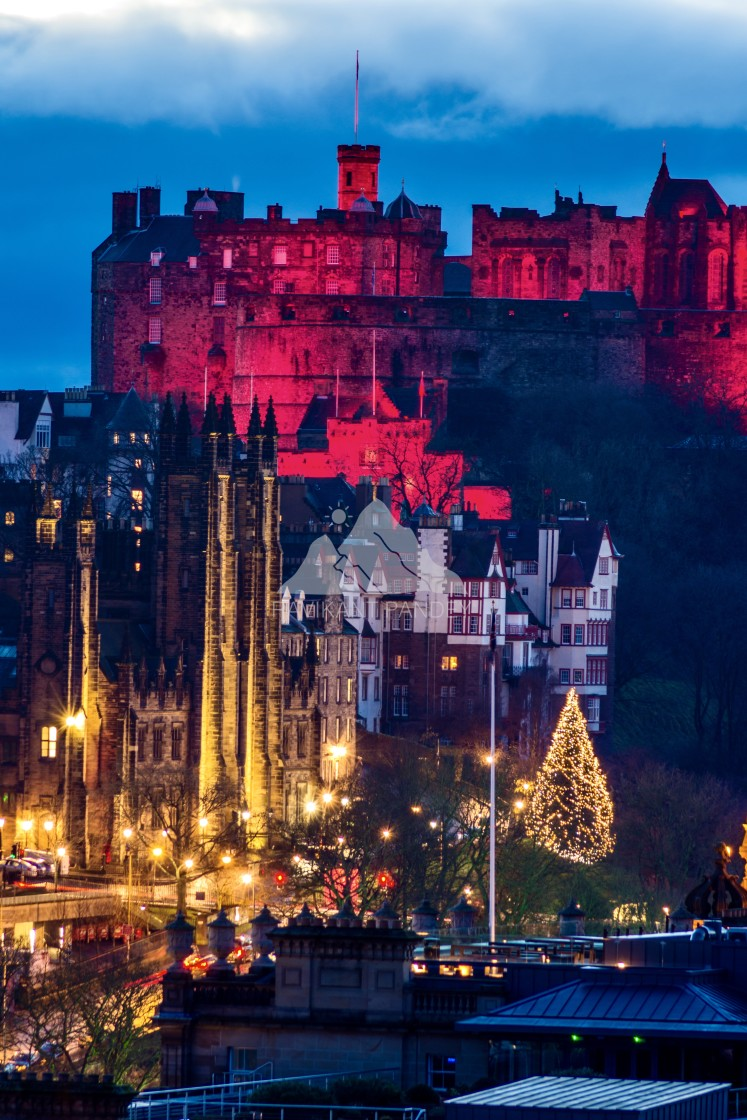 """Magical Edinburgh"" stock image"