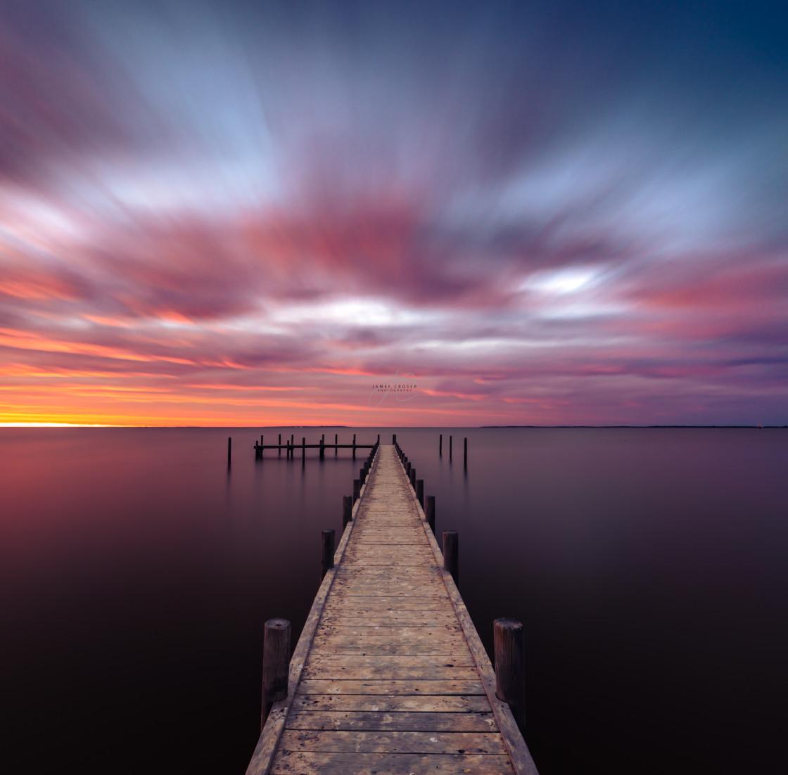 """Milang Sunrise"" stock image"