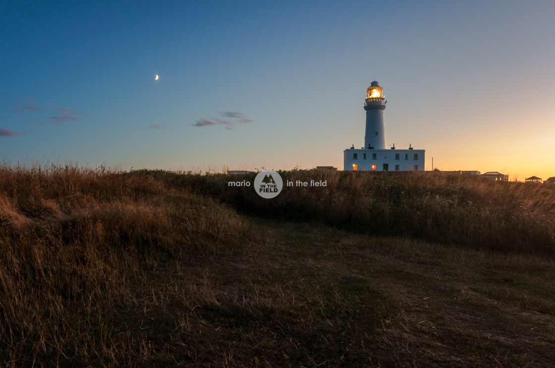 """Flamborough Head Lighthouse"" stock image"