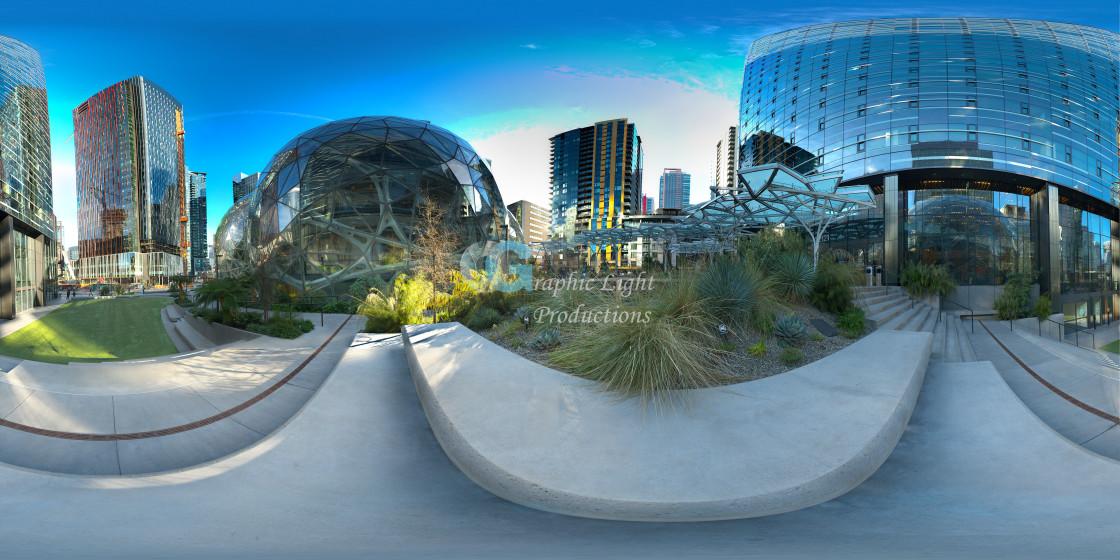 """Amazon Spheres - Seattle"" stock image"