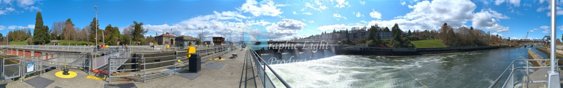 """Ballard Locks - Seattle"" stock image"