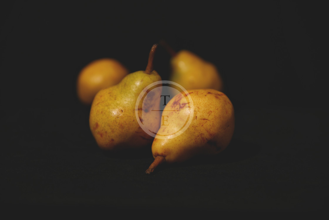 """""""Golden pears"""" stock image"""