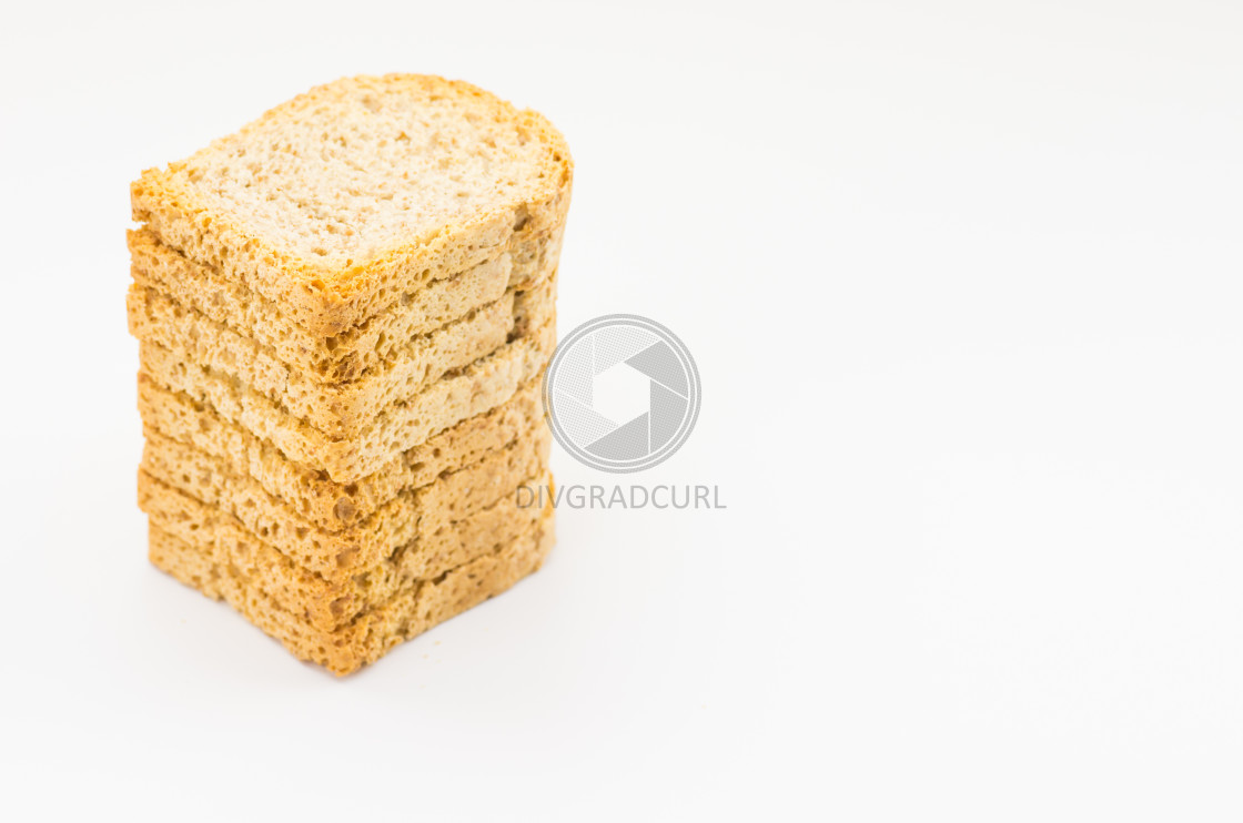 """wholemeal backed rusks"" stock image"