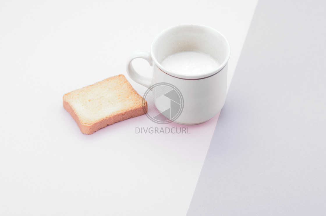 """fresh milk in a cup"" stock image"