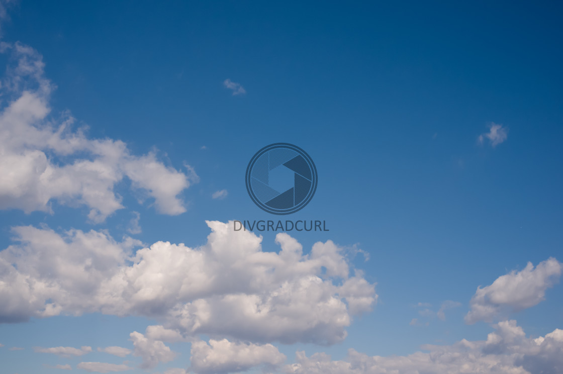 """clouds and sky"" stock image"