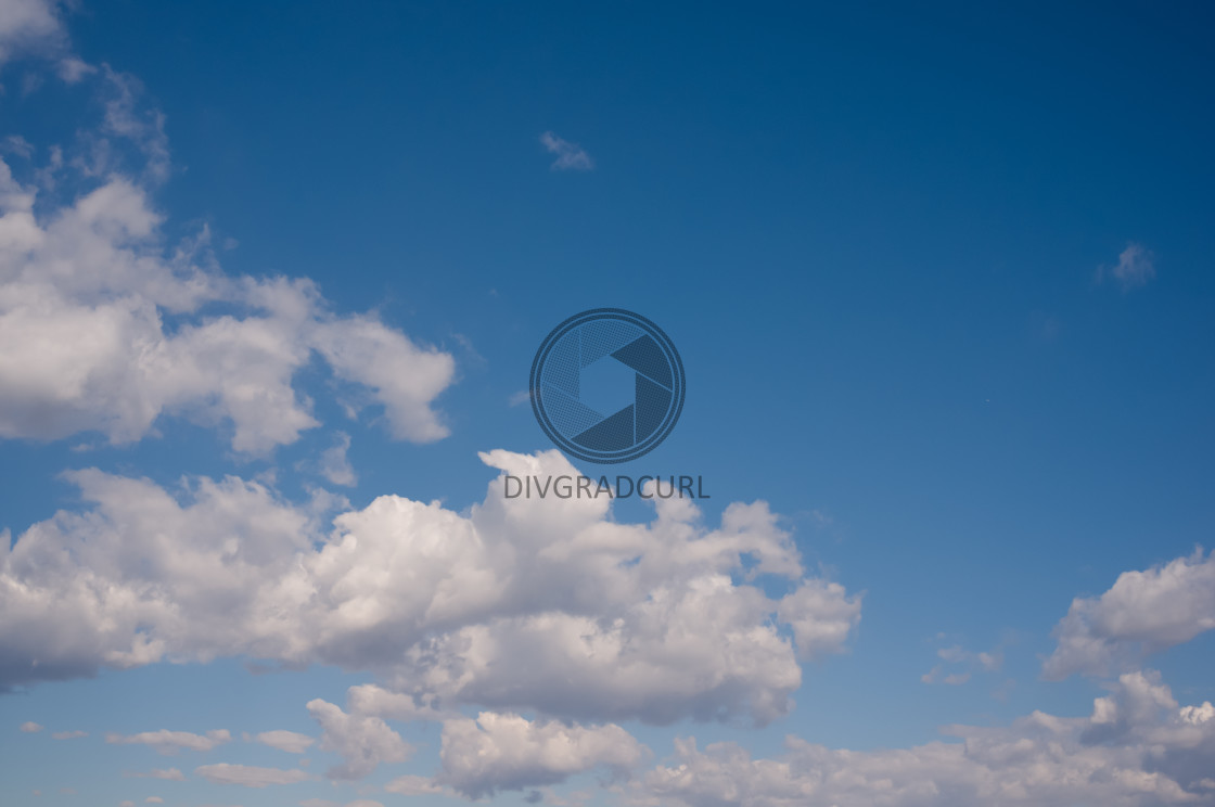 """""""clouds and sky"""" stock image"""