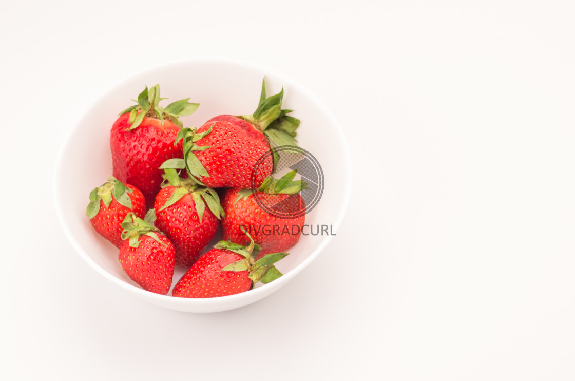 """red ripe organic fruits"" stock image"