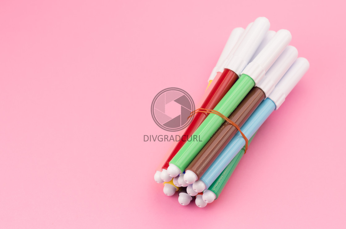 """colored pencils"" stock image"