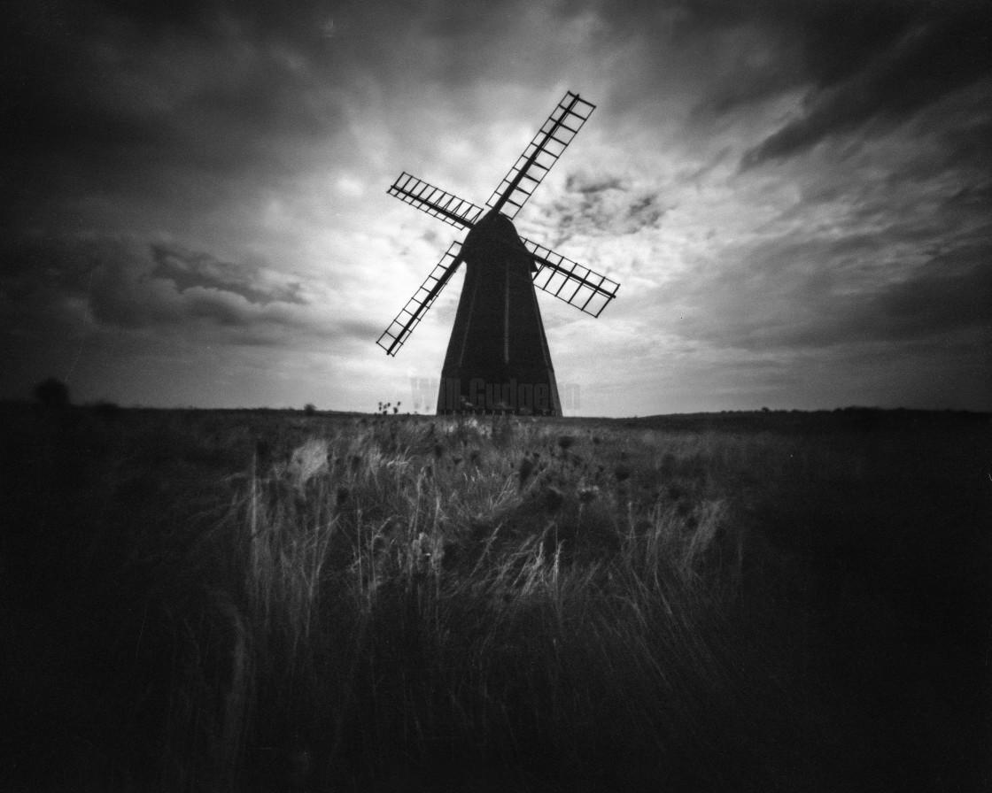 """Rottingdean windmill"" stock image"