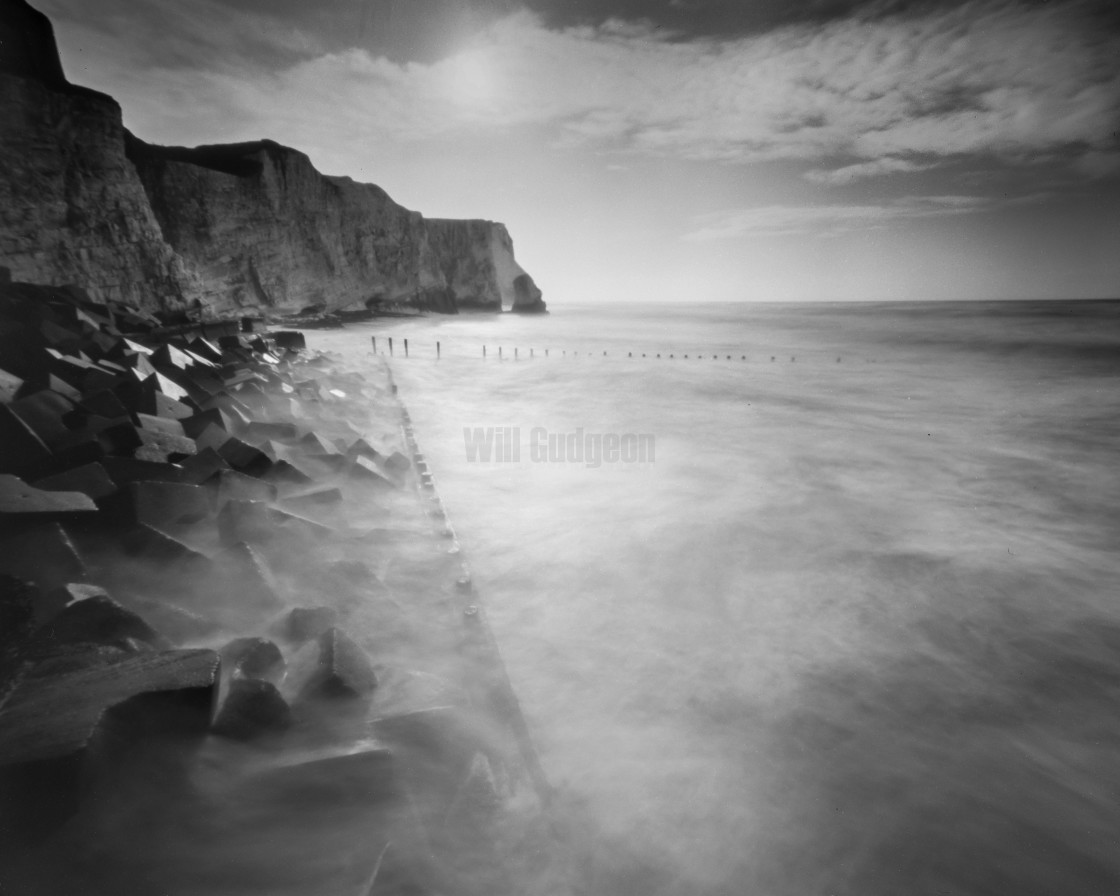 """Calming the storm - Pinhole photo."" stock image"