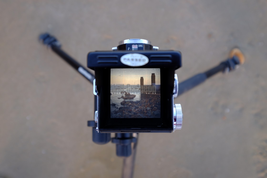 """""""Beach TLR View"""" stock image"""