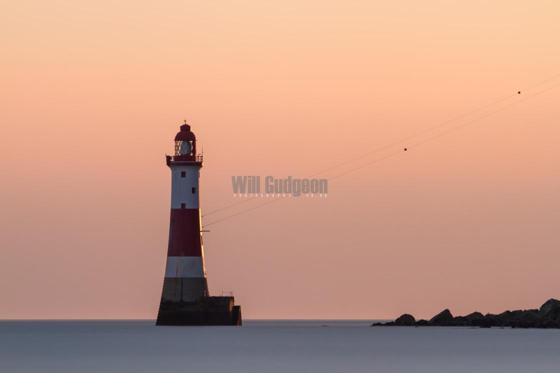 """Beachy head lighthouse"" stock image"