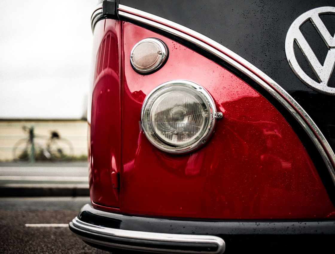"""""""VW Split Screen Camper"""" stock image"""