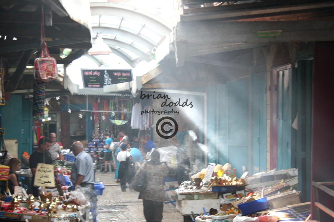 """""""Akko Market"""" stock image"""