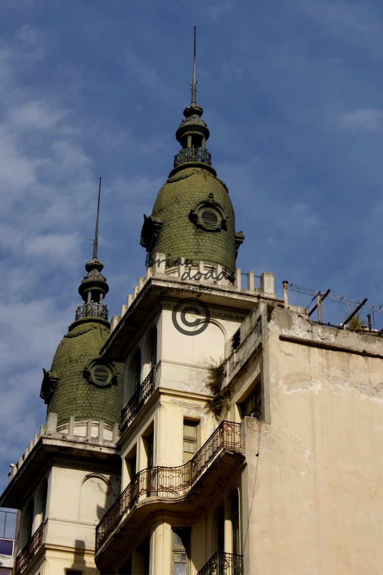 """""""Colonial Building - Buenos Aires"""" stock image"""