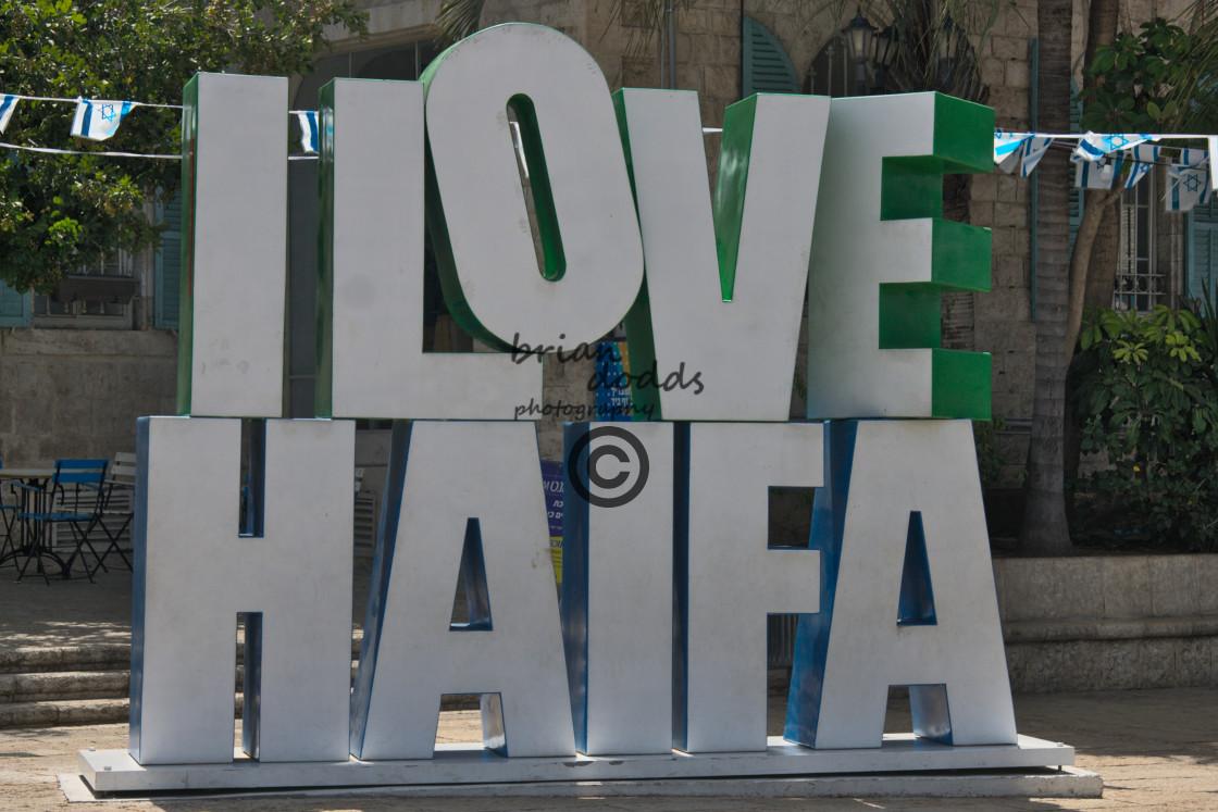 """""""Haifa, Israel"""" stock image"""