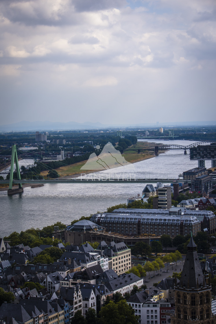 """River Rhine, Cologne - Germany"" stock image"