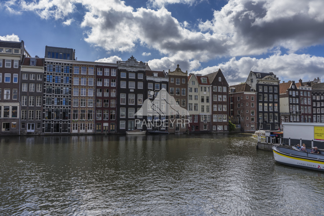 """The Canal Houses of Amsterdam, Netherlands"" stock image"