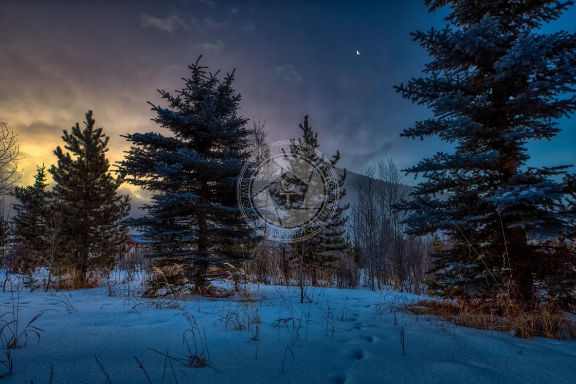 """sunrise-rocky-mountain-national-park"" stock image"