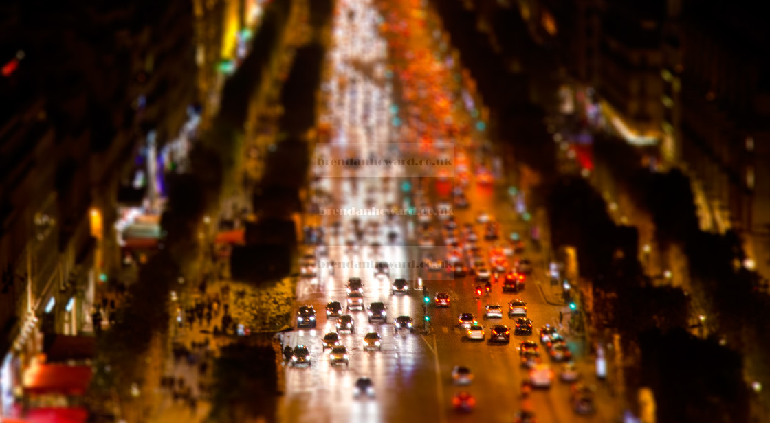 """""""Champs-Elysees"""" stock image"""