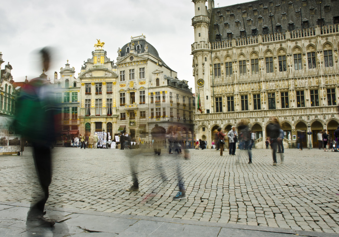 """""""Grand Place, Brussels"""" stock image"""