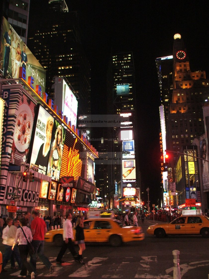 """""""Times Square, NYC"""" stock image"""