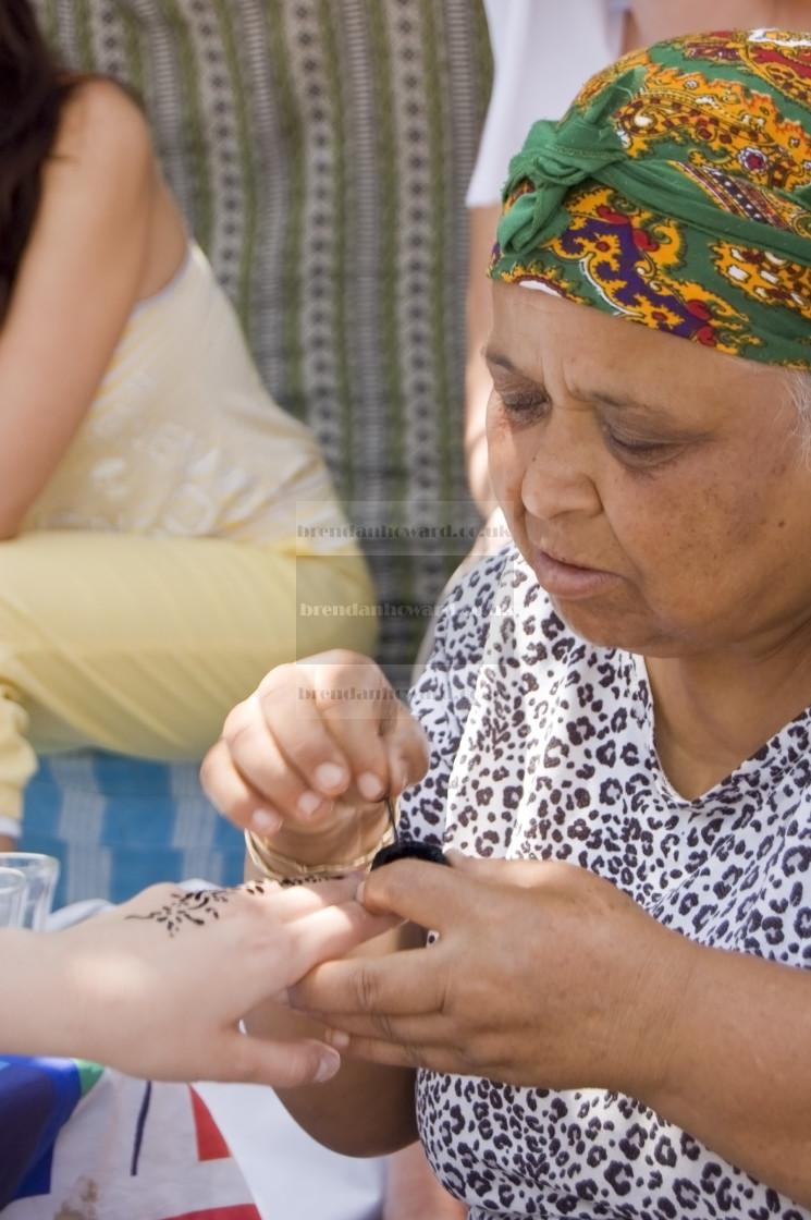 """Berber woman, Tunisia"" stock image"