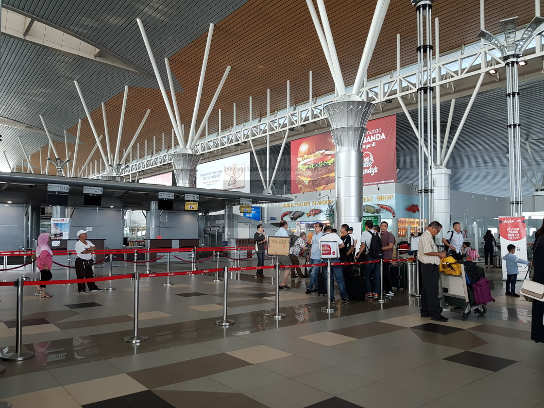 """Kota Kinabalu International Airport"" stock image"