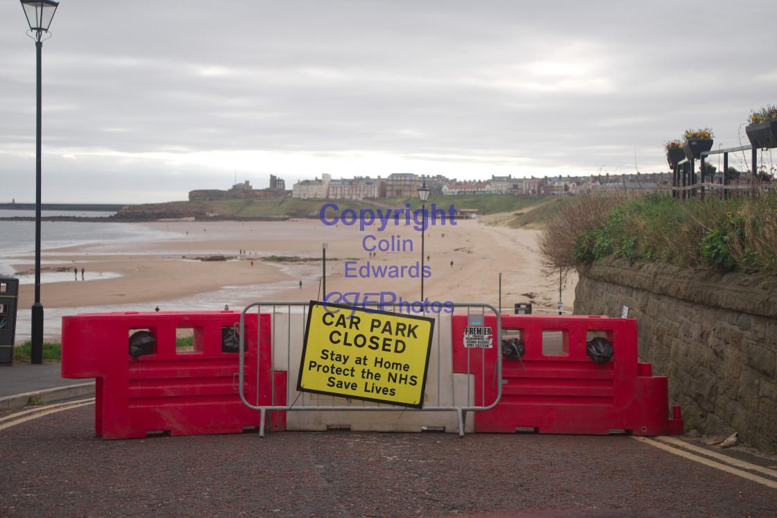"""Beaches on Easter Sunday during coronavirus lockdown"" stock image"