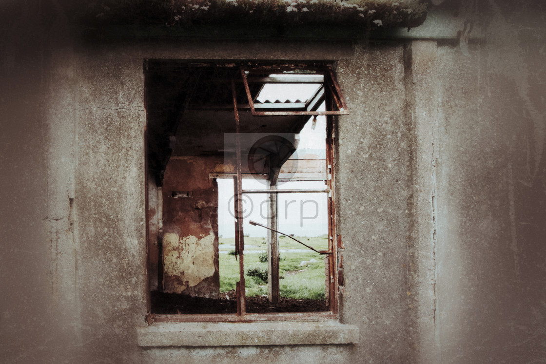 """""""Window To the Past"""" stock image"""
