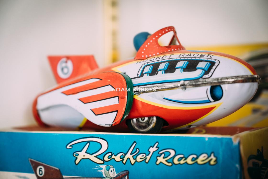 """Rocket racer"" stock image"